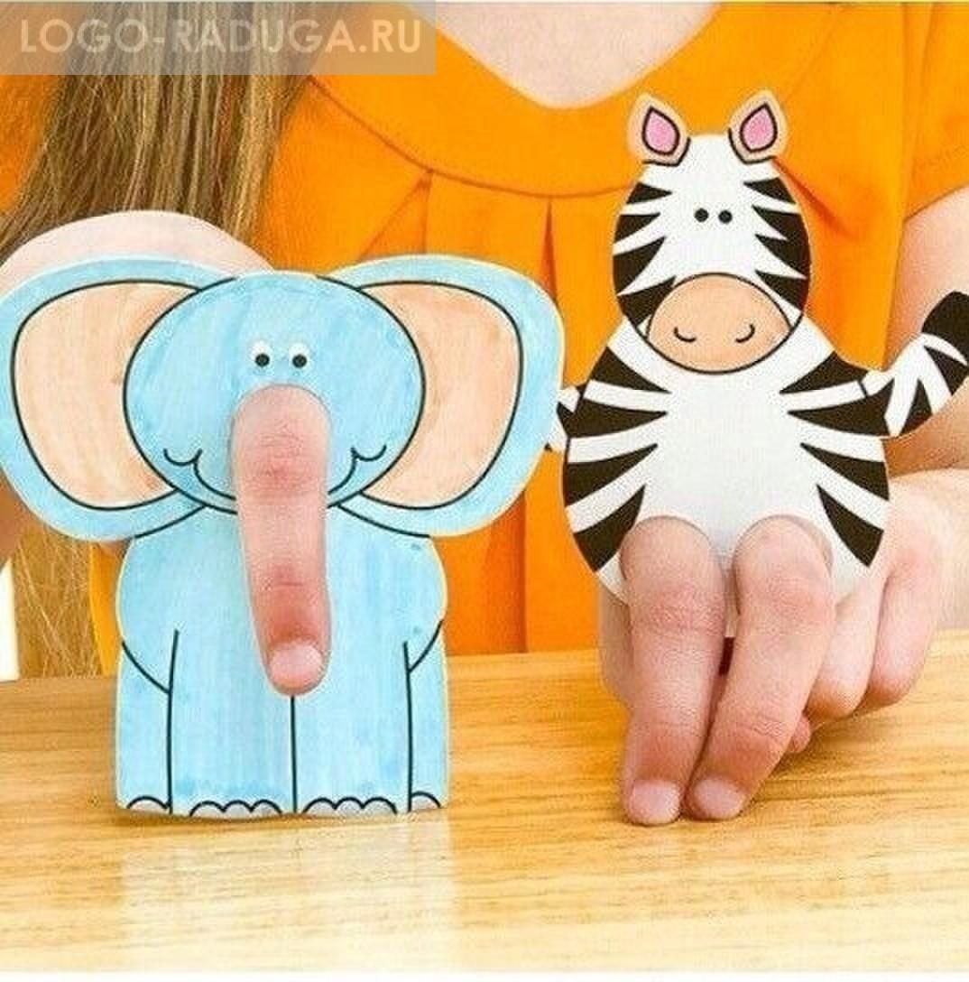 Как сделать куклу пальчиковую на всю руку